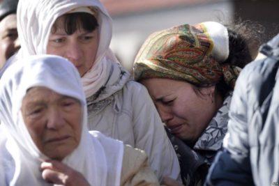 Как хоронят людей у татар