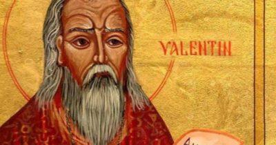 Как умер Святого Валентина