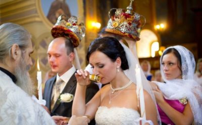 Можно ли есть перед венчанием