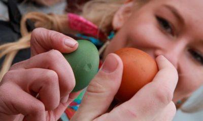 Что значит когда бьются яйцами на Пасху