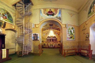 Каковы основные части внутреннего пространства православного храма