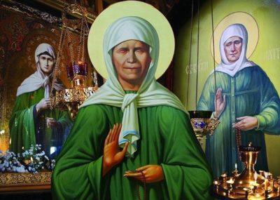 В каком году умерла святая Матрона