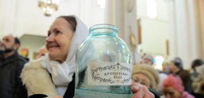 Можно ли пить святую воду