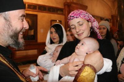 В каком году крестилась Грузия