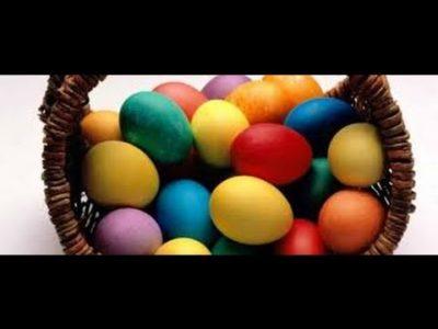 Можно ли красить пасхальные яйца в Страстную пятницу