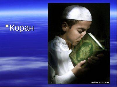 Как называется священная книга мусульман