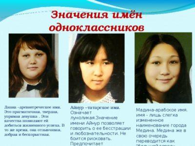 Что означает имя Медина на казахском