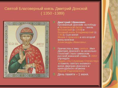 Что означает имя Дмитрий в православии